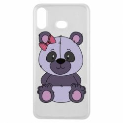 Чохол для Samsung A6s Purple Teddy Bear