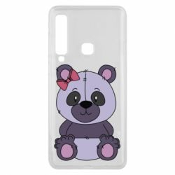 Чохол для Samsung A9 2018 Purple Teddy Bear