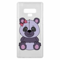 Чохол для Samsung Note 9 Purple Teddy Bear