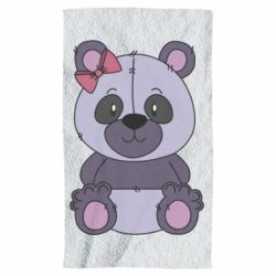 Рушник Purple Teddy Bear
