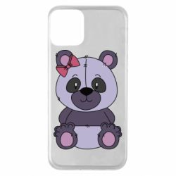 Чохол для iPhone 11 Purple Teddy Bear