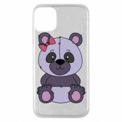 Чохол для iPhone 11 Pro Purple Teddy Bear