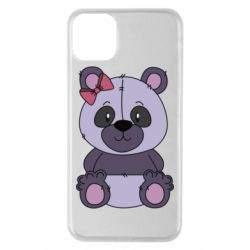 Чохол для iPhone 11 Pro Max Purple Teddy Bear