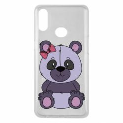 Чохол для Samsung A10s Purple Teddy Bear