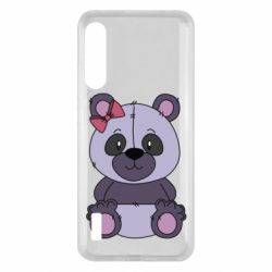 Чохол для Xiaomi Mi A3 Purple Teddy Bear
