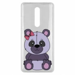 Чохол для Xiaomi Mi9T Purple Teddy Bear