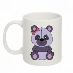 Кружка 320ml Purple Teddy Bear