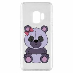 Чохол для Samsung S9 Purple Teddy Bear