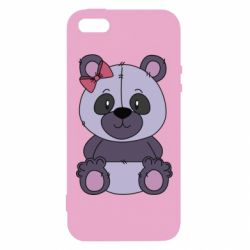 Чохол для iphone 5/5S/SE Purple Teddy Bear