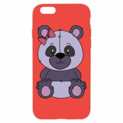 Чохол для iPhone 6/6S Purple Teddy Bear