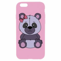 Чохол для iPhone 6 Plus/6S Plus Purple Teddy Bear