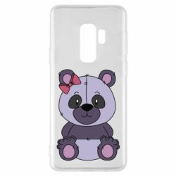 Чохол для Samsung S9+ Purple Teddy Bear