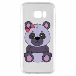 Чохол для Samsung S7 EDGE Purple Teddy Bear