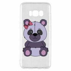 Чохол для Samsung S8 Purple Teddy Bear