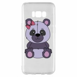 Чохол для Samsung S8+ Purple Teddy Bear