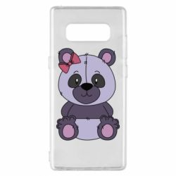 Чохол для Samsung Note 8 Purple Teddy Bear