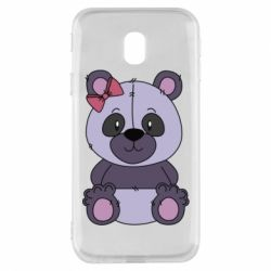 Чохол для Samsung J3 2017 Purple Teddy Bear