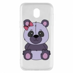 Чохол для Samsung J5 2017 Purple Teddy Bear