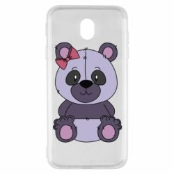 Чохол для Samsung J7 2017 Purple Teddy Bear
