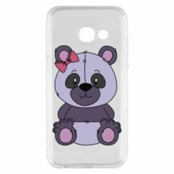 Чохол для Samsung A3 2017 Purple Teddy Bear