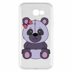 Чохол для Samsung A7 2017 Purple Teddy Bear
