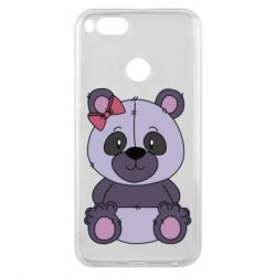 Чохол для Xiaomi Mi A1 Purple Teddy Bear