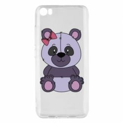 Чохол для Xiaomi Mi5/Mi5 Pro Purple Teddy Bear