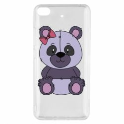 Чохол для Xiaomi Mi 5s Purple Teddy Bear
