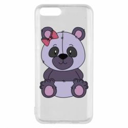 Чохол для Xiaomi Mi6 Purple Teddy Bear