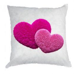 Купить Подушка Пушистое сердце, FatLine