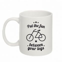 Кружка 320ml Put the fun between your legs - FatLine