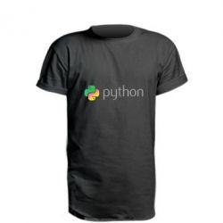 Подовжена футболка Python