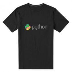 Чоловіча стрейчева футболка Python
