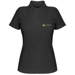 Жіноча футболка поло Python