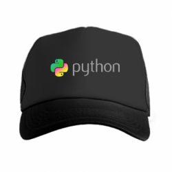 Кепка-тракер Python