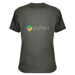 Камуфляжна футболка Python