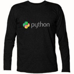 Футболка з довгим рукавом Python