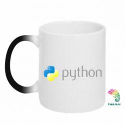 Кружка-хамелеон Python