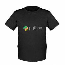 Дитяча футболка Python