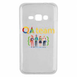 Чехол для Samsung J1 2016 QA+TEAM