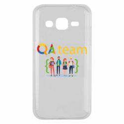 Чехол для Samsung J2 2015 QA+TEAM