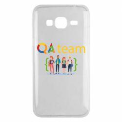 Чехол для Samsung J3 2016 QA+TEAM