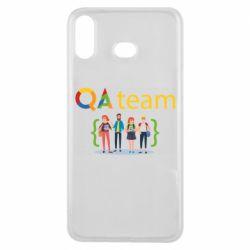 Чехол для Samsung A6s QA+TEAM