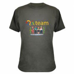Камуфляжная футболка QA+TEAM