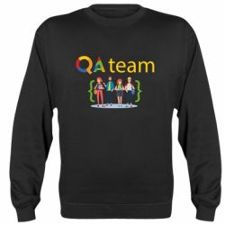 Реглан (свитшот) QA+TEAM