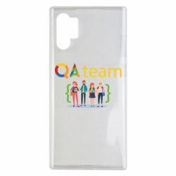 Чехол для Samsung Note 10 Plus QA+TEAM