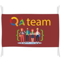 Флаг QA+TEAM