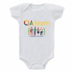 Детский бодик QA+TEAM