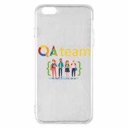 Чехол для iPhone 6 Plus/6S Plus QA+TEAM