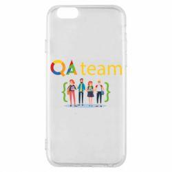 Чехол для iPhone 6/6S QA+TEAM